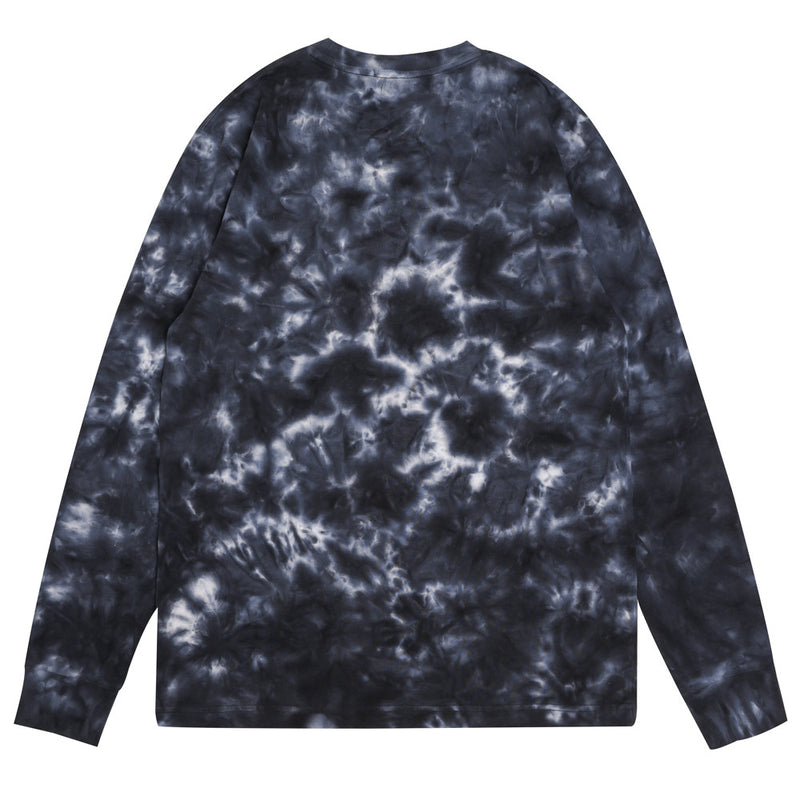 Capsule General Tie Dye Long Sleeve Tee | Black