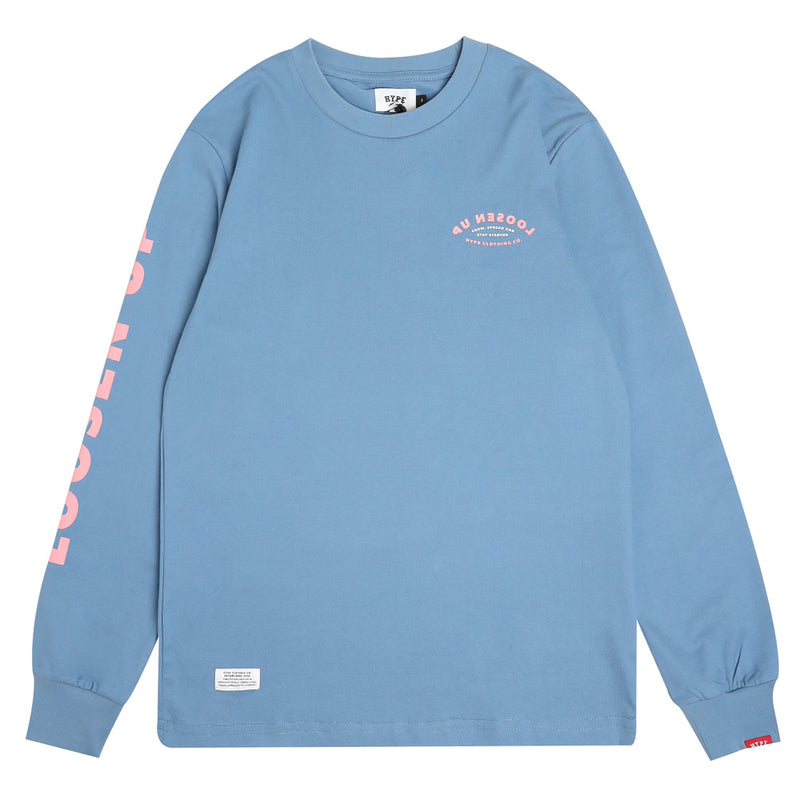 Capsule Howell Long Sleeve Tee | Blue