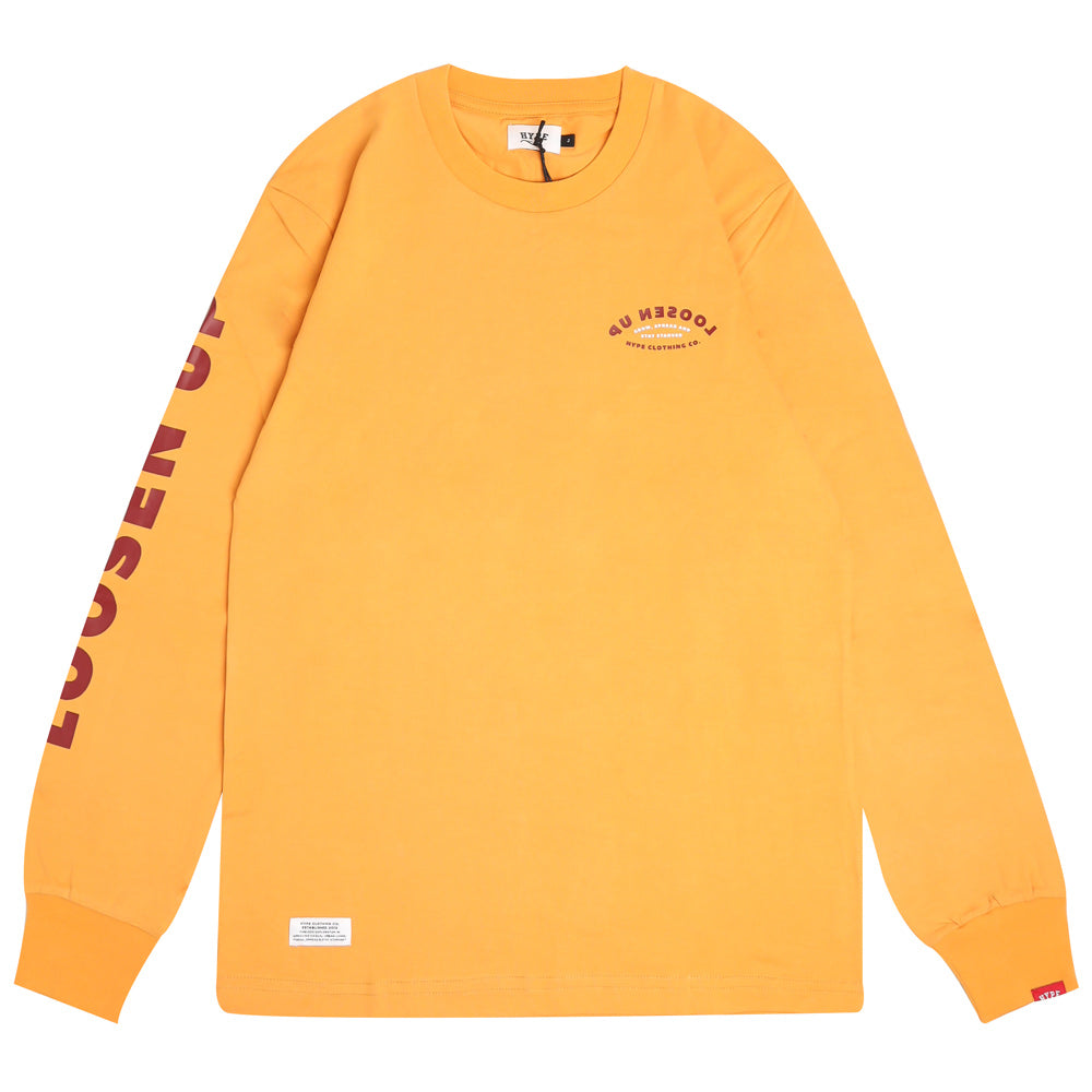 Capsule Howell Long Sleeve Tee | Mustard