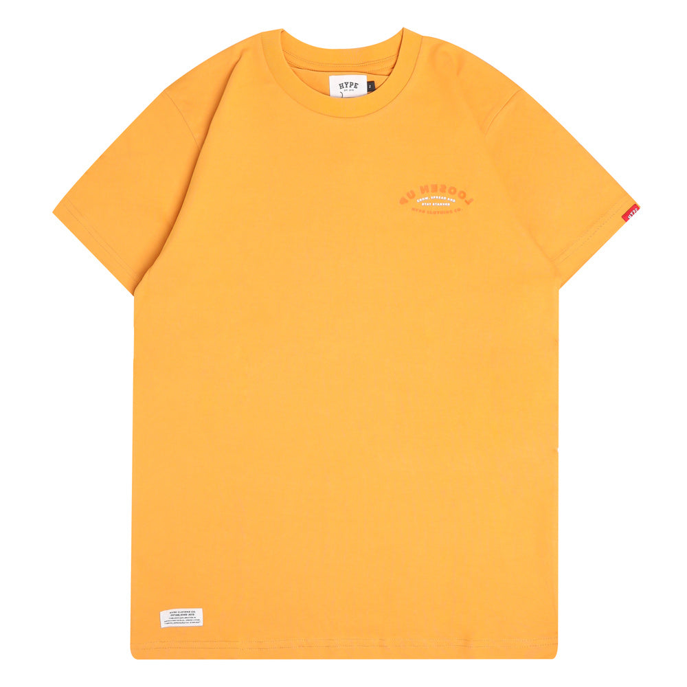 Capsule Howell Short Sleeve Tee | Mustard