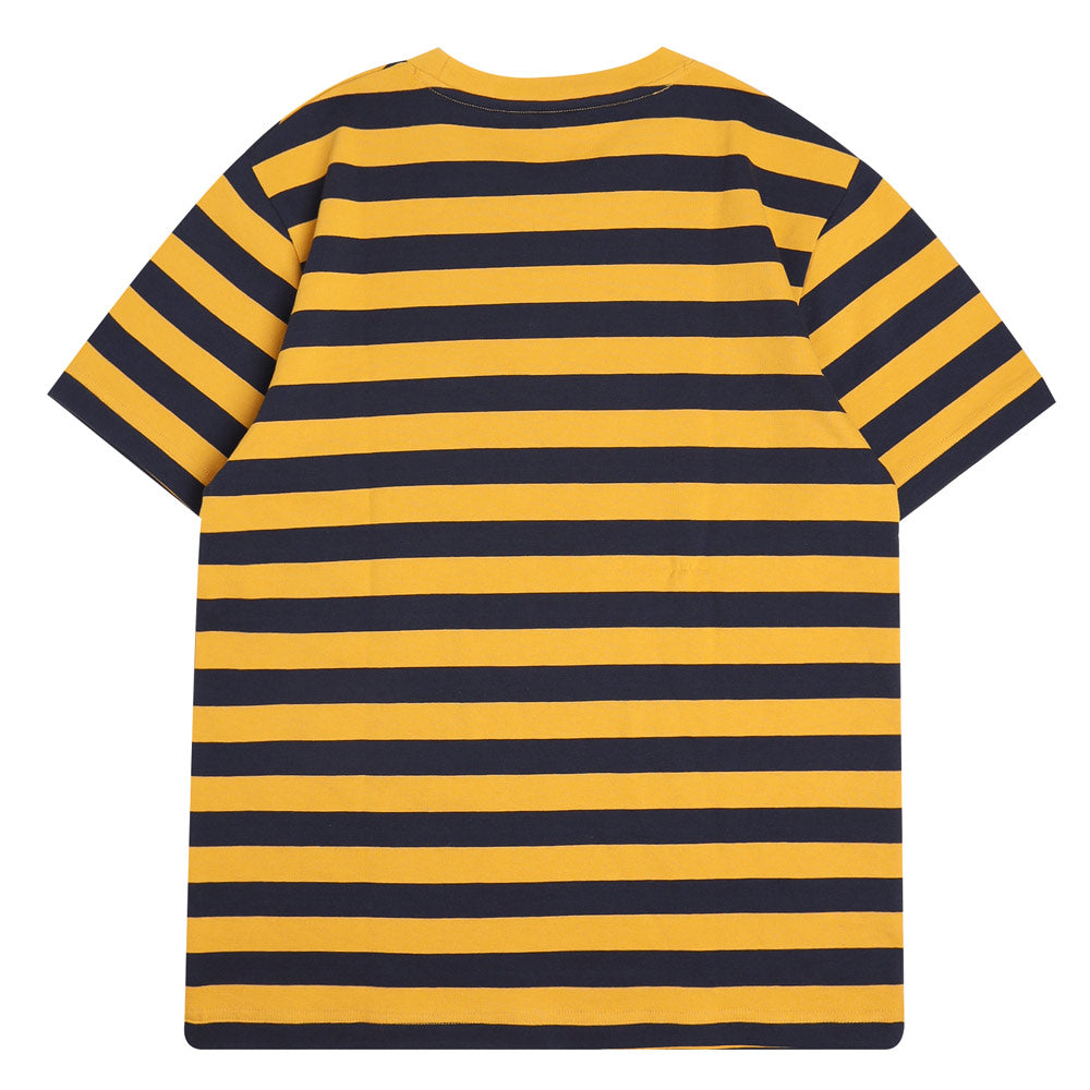 Capsule Howell Stripe Short Sleeve Tee | Navy/Mustard