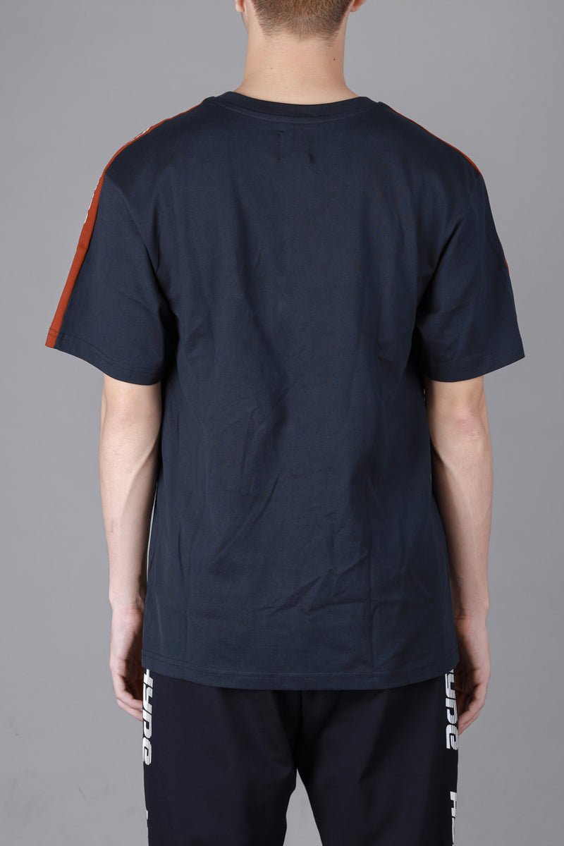 Capsule Huddle Oversized Short Sleeve Tee | Navy