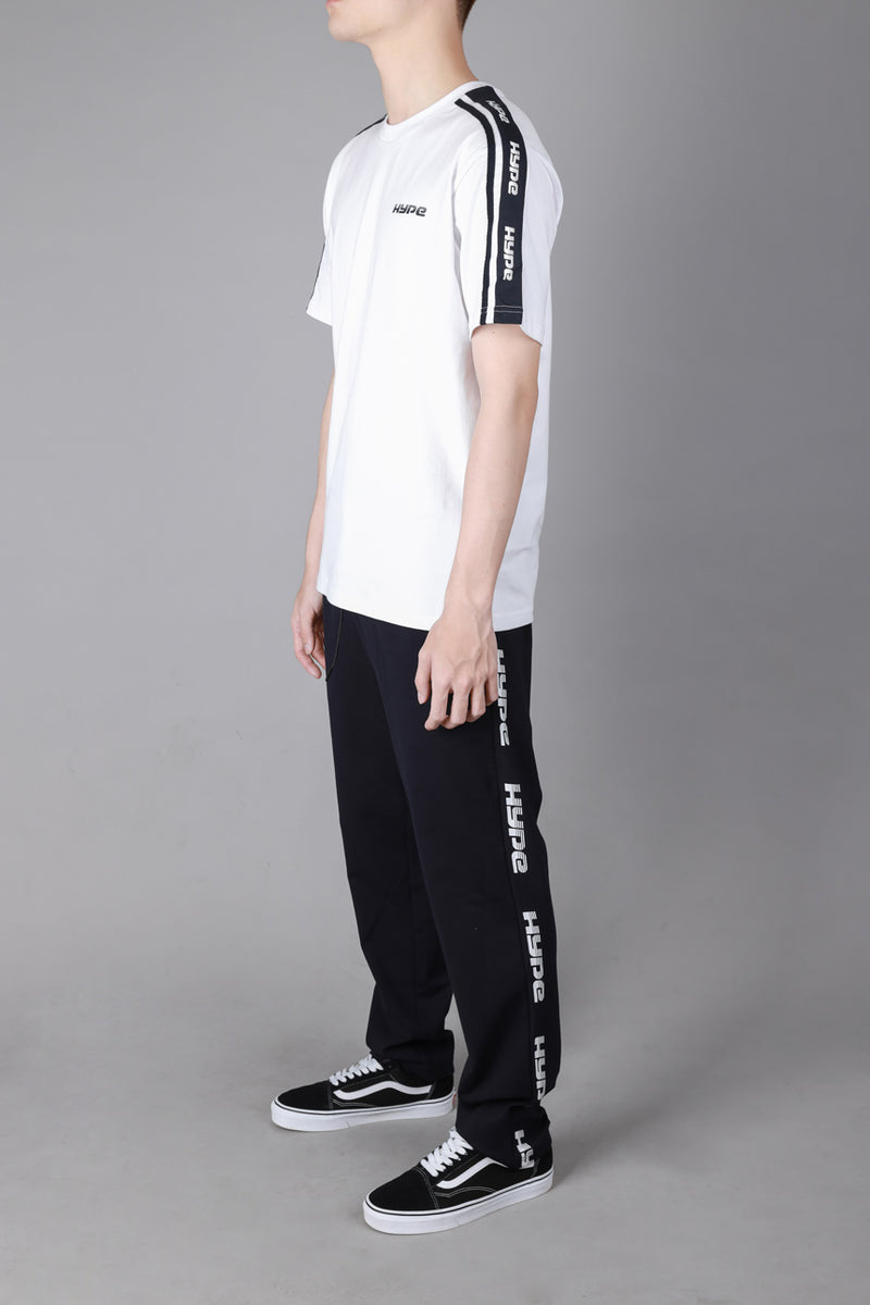 Capsule Huddle Oversized Short Sleeve Tee | White