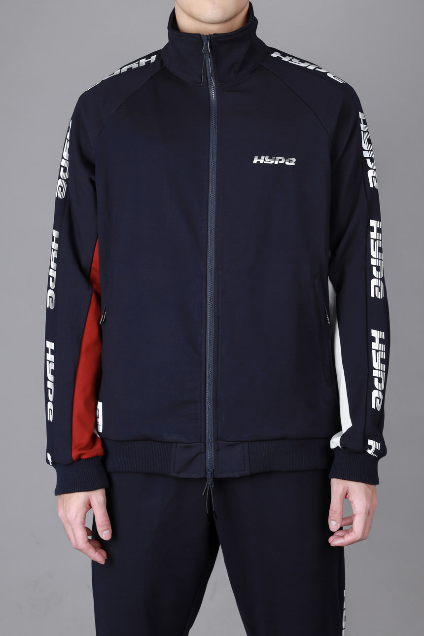 Capsule Huddle Track Jacket | Navy