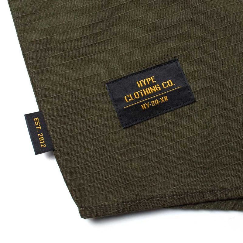 Capsule Women Command Long Sleeve Shirt | Olive