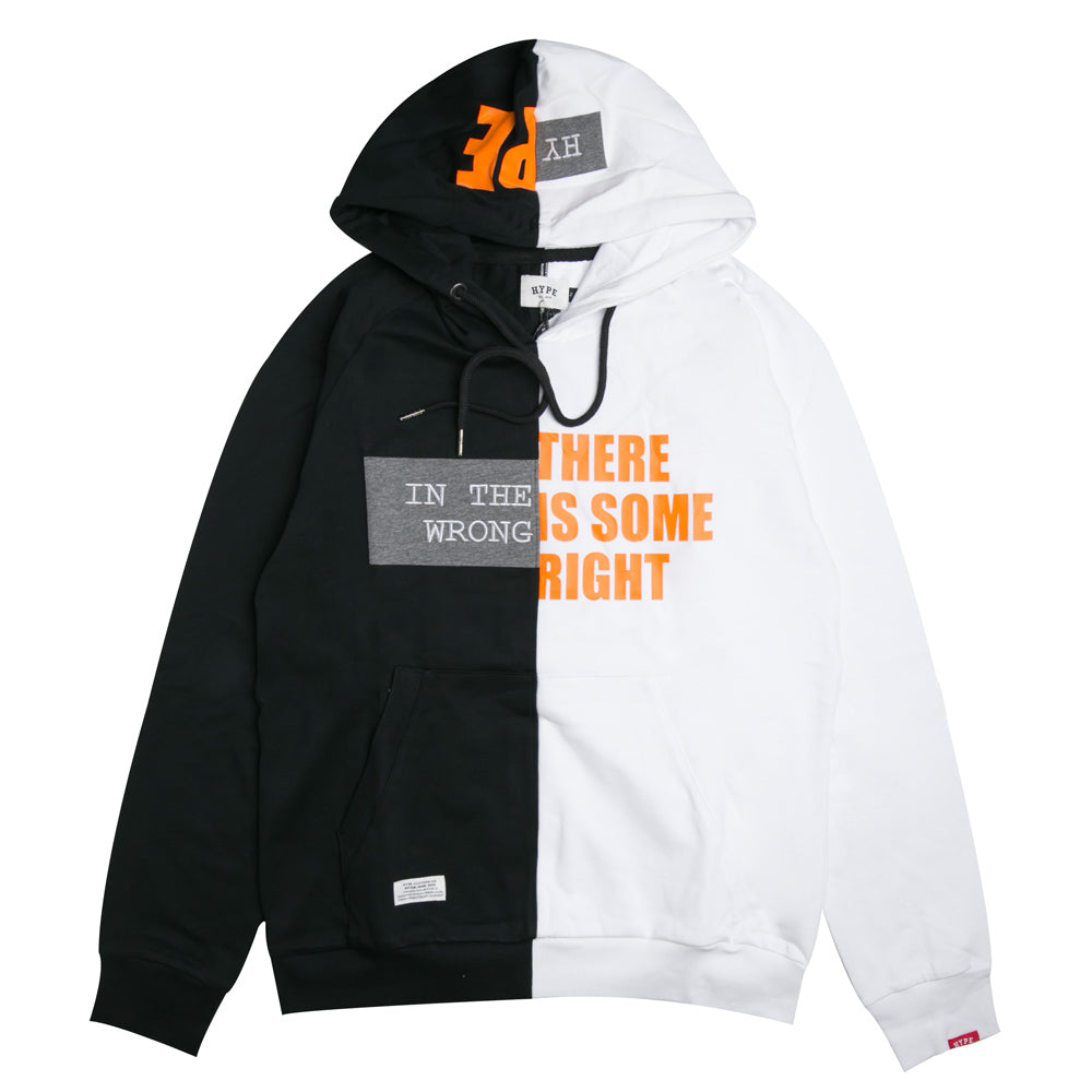 Capsule Lanyon Pullover Hoodie | Black/White