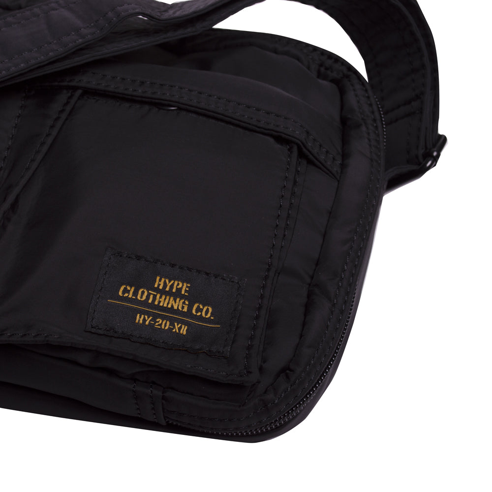 Capsule Military Sling Pouch Bag | Black