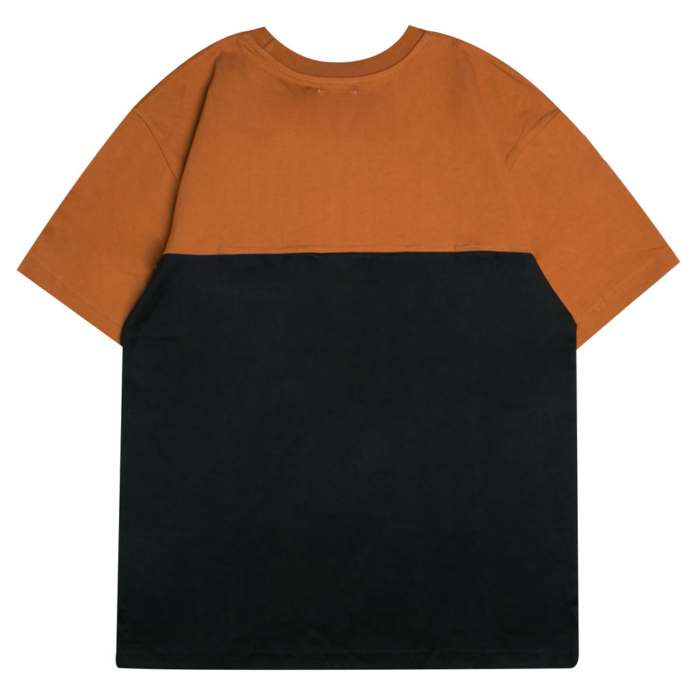 Capsule Millicent Oversized Tee | Brown/Black