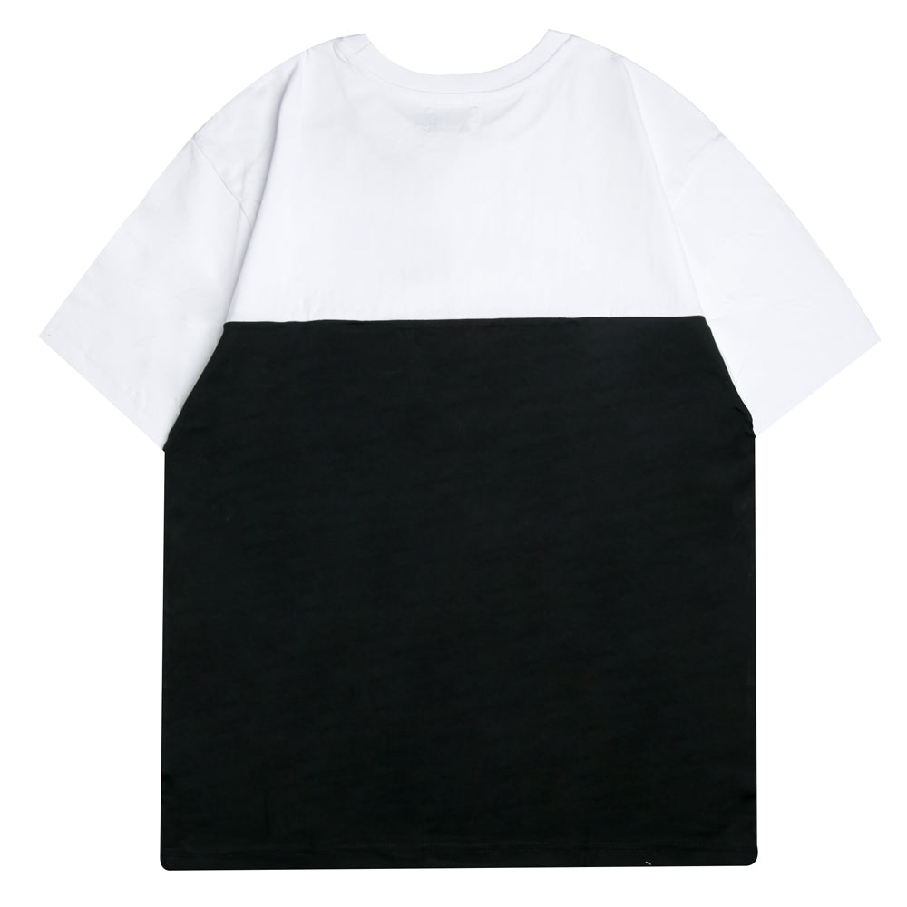 Capsule Millicent Oversized Tee | White/Black