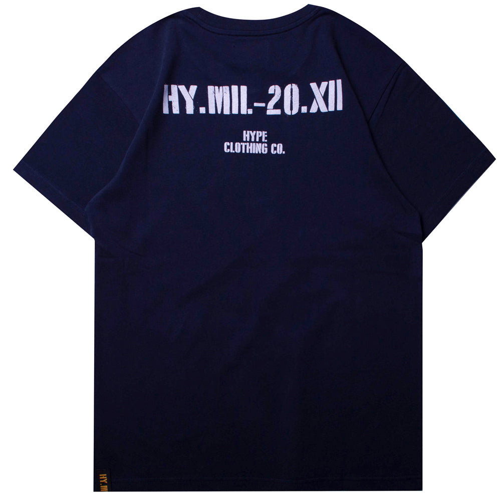 Capsule Nighthawk Short Sleeve Tee | Navy