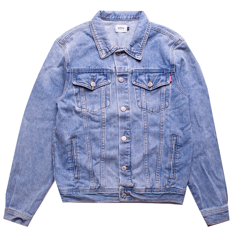 Capsule Scourge Denim Jacket | Light Denim