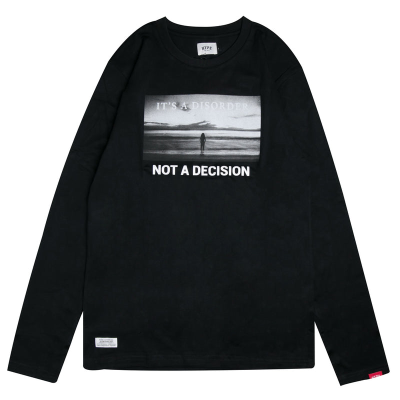 Capsule Scourge Long Sleeve Tee | Black