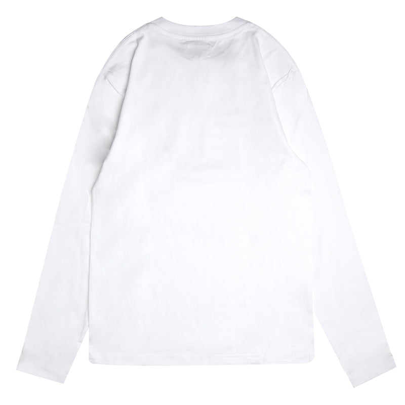 Capsule Scourge Long Sleeve Tee | White