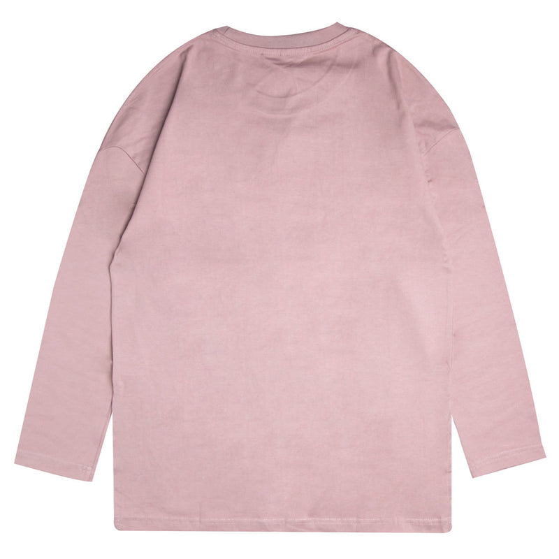 Capsule Women Anguish Fish Tail Long Sleeve Tee | Dusty Pink