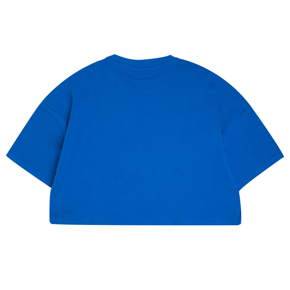 Capsule Women Intro Oversized Crop Top | Blue
