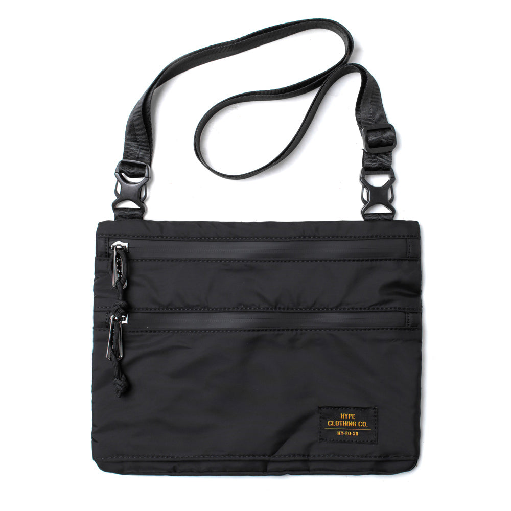 Capsule Military Sacoche Bag | Black