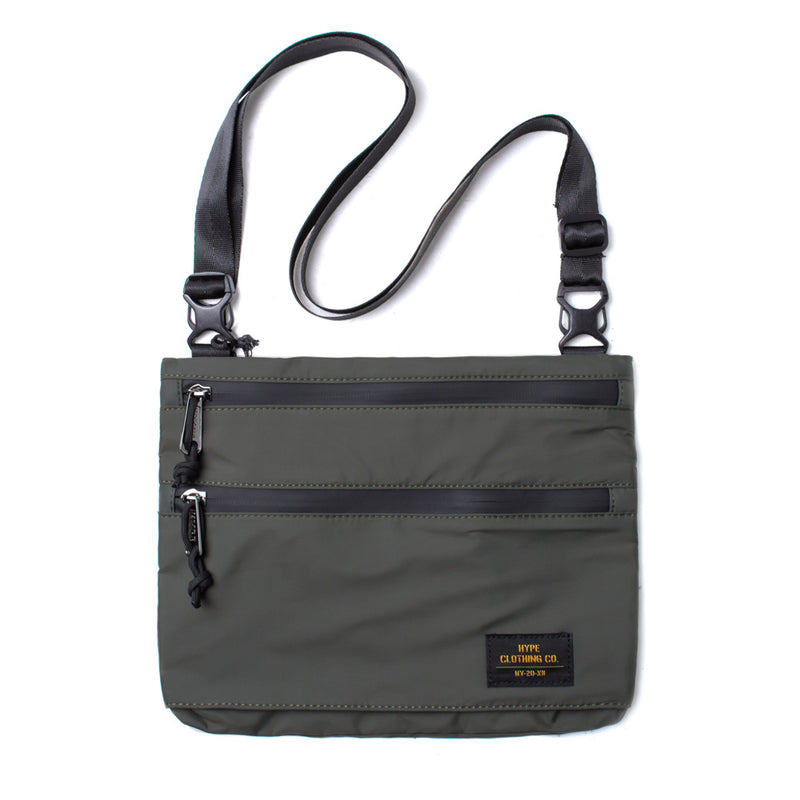 Capsule Military Sacoche Bag | Olive