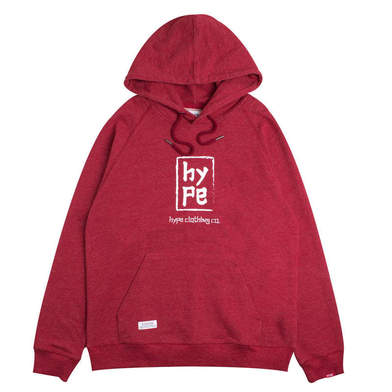 Capsule Imperial Pullover Hoodie | Heather Red