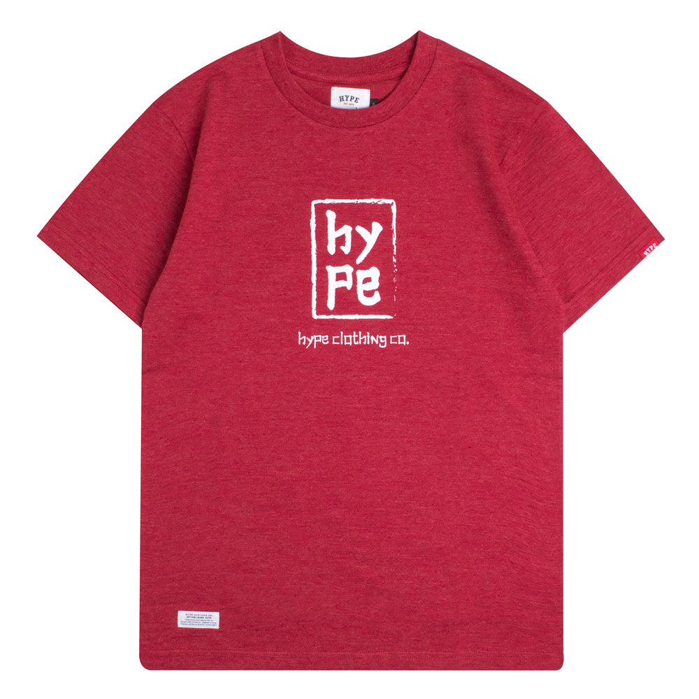 Capsule Imperial Short Sleeve Tee | Heather Red