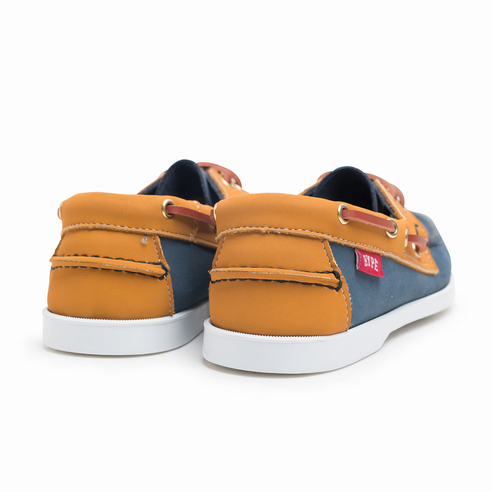 Seasonal Deck Shoes | Navy/Brown