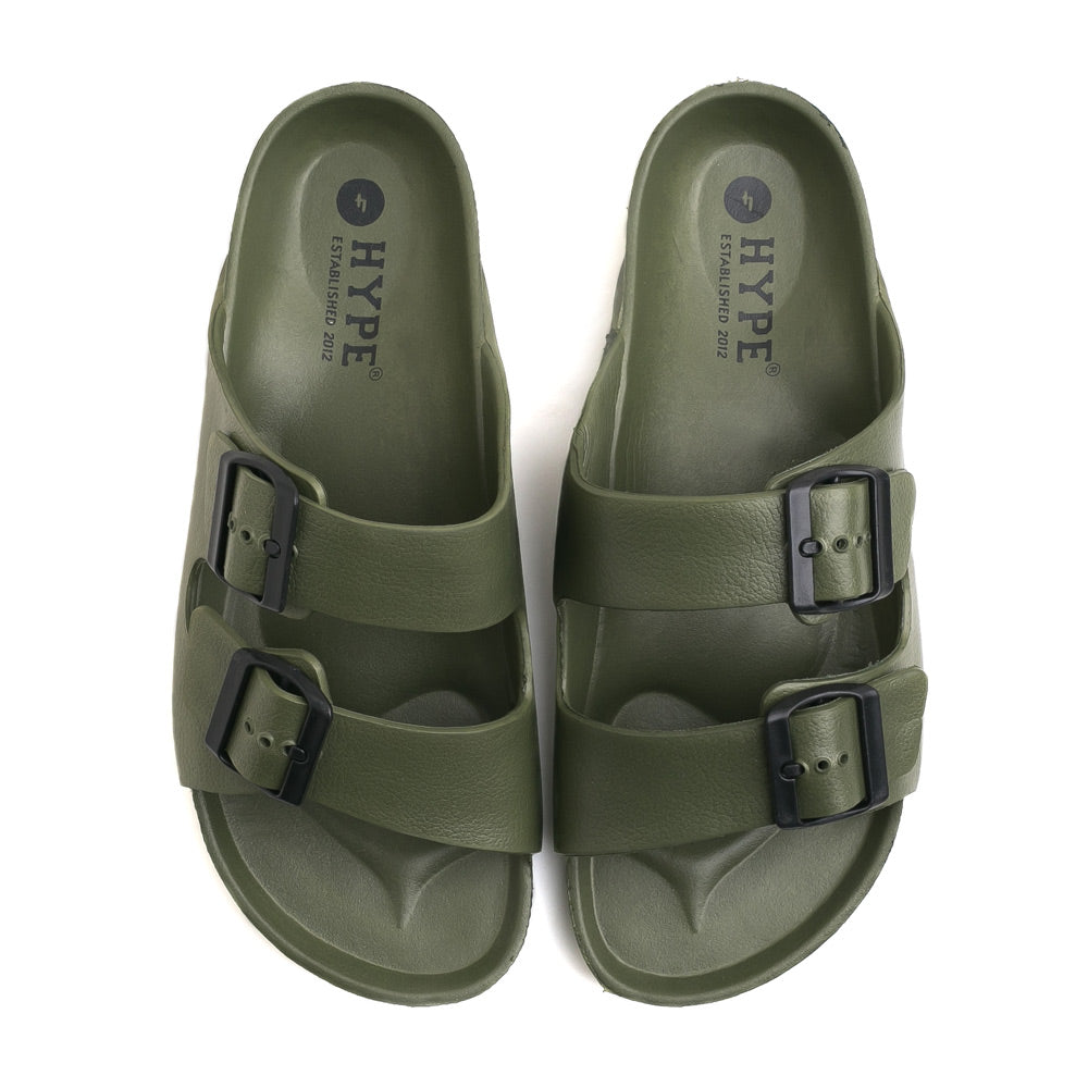 Seasonal Unisex Eva Sandals | Army Green