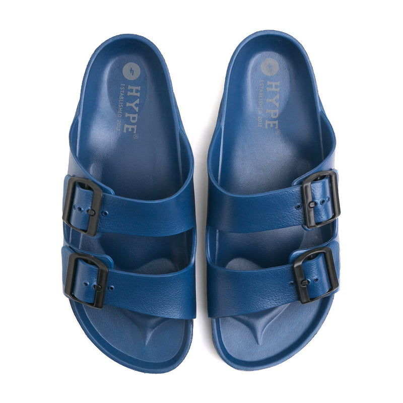 Seasonal Unisex Eva Sandals | Navy