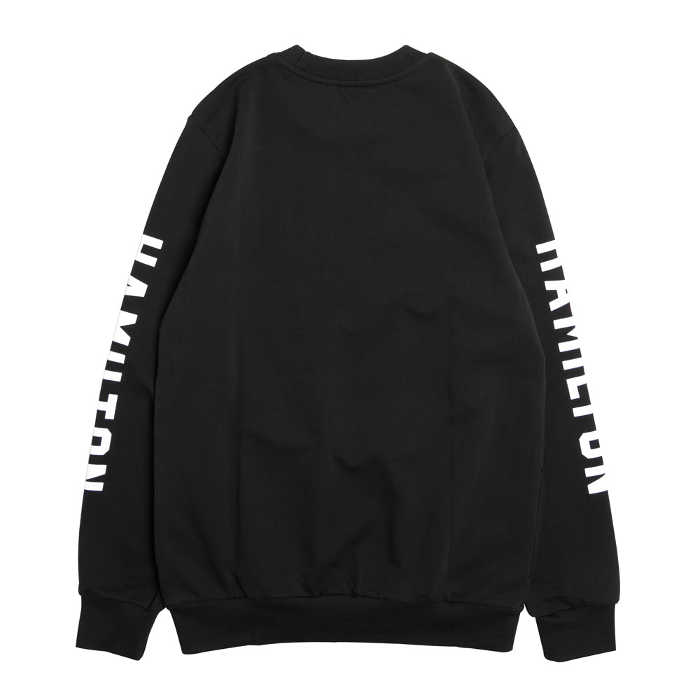 Seasonal Hamilton Derby Crewneck Sweater | Black