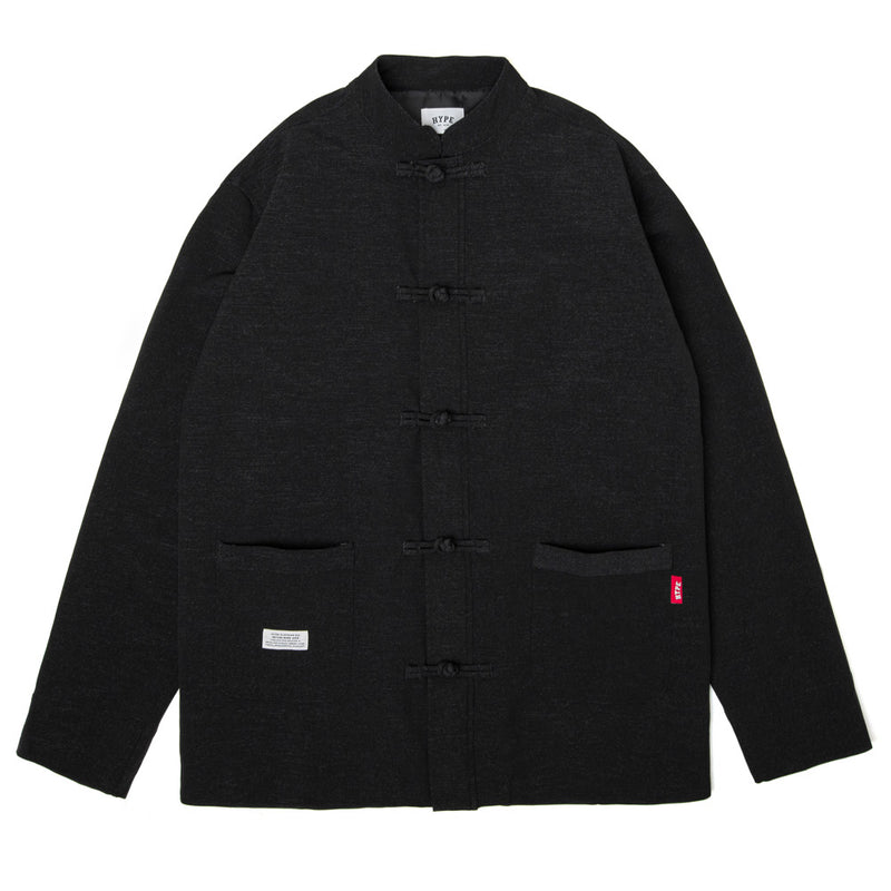 Seasonal Kung-Fu Jacket | Black