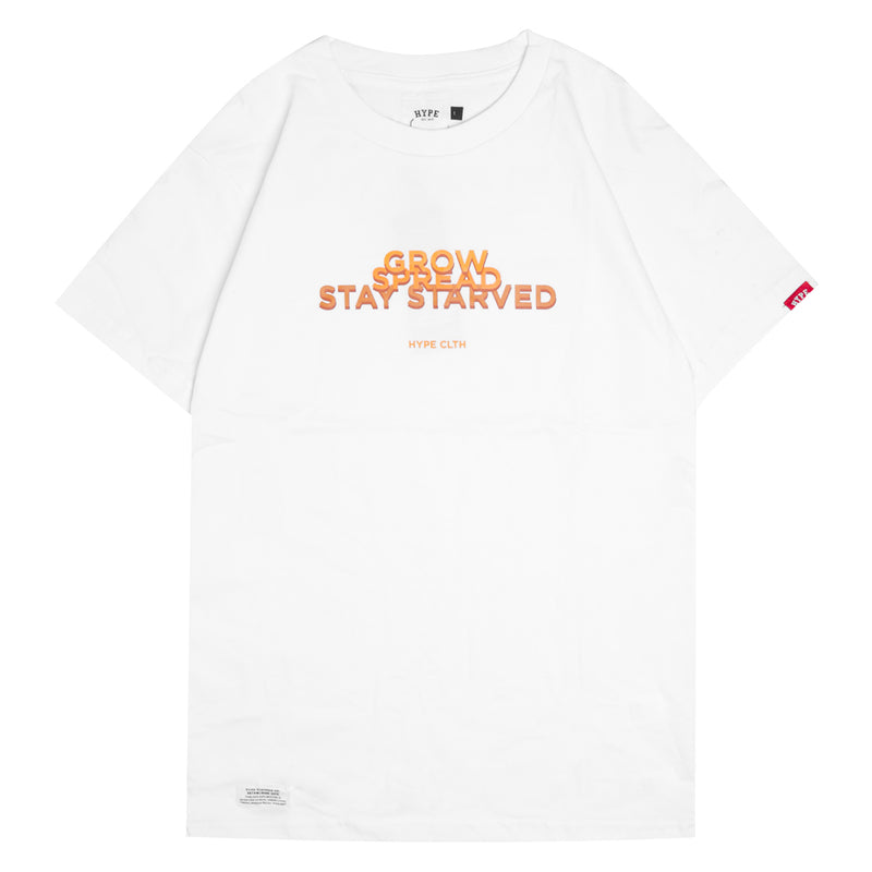 Seasonal Label Short Sleeve Tee | White