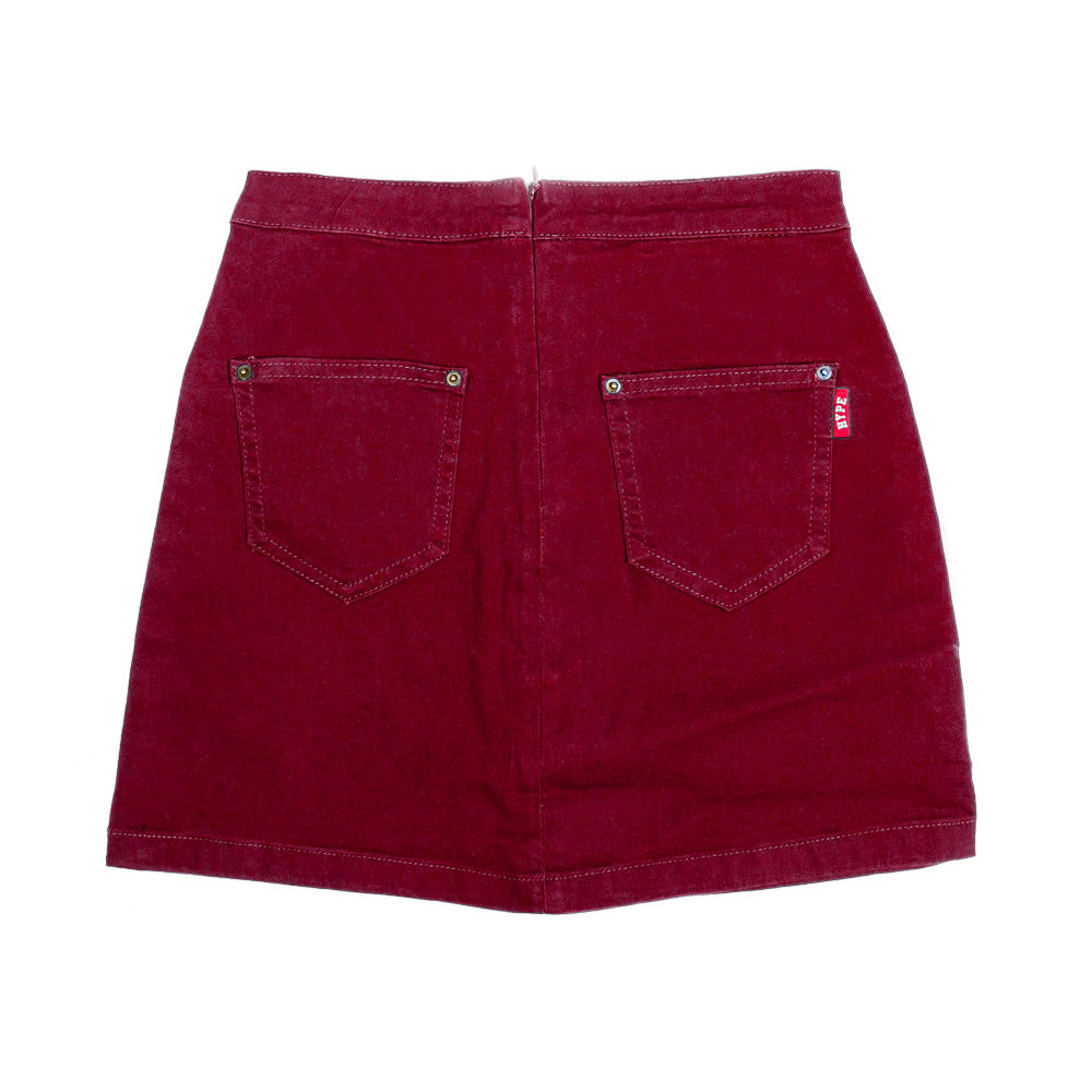 Ladies Skirt | Maroon