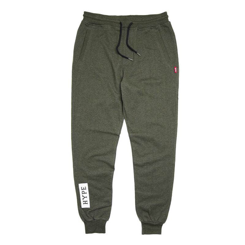 Signature Marshall Long Sweatpants | Dark Heather Green