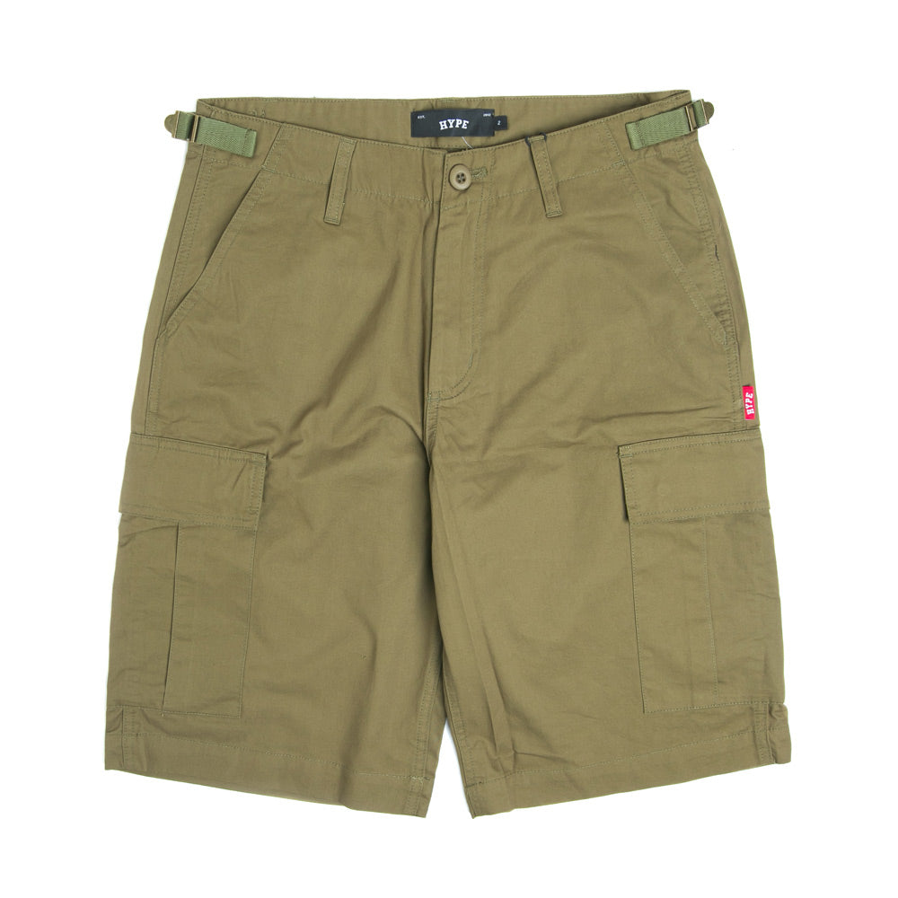 Basic Cargo Shorts | Army Green