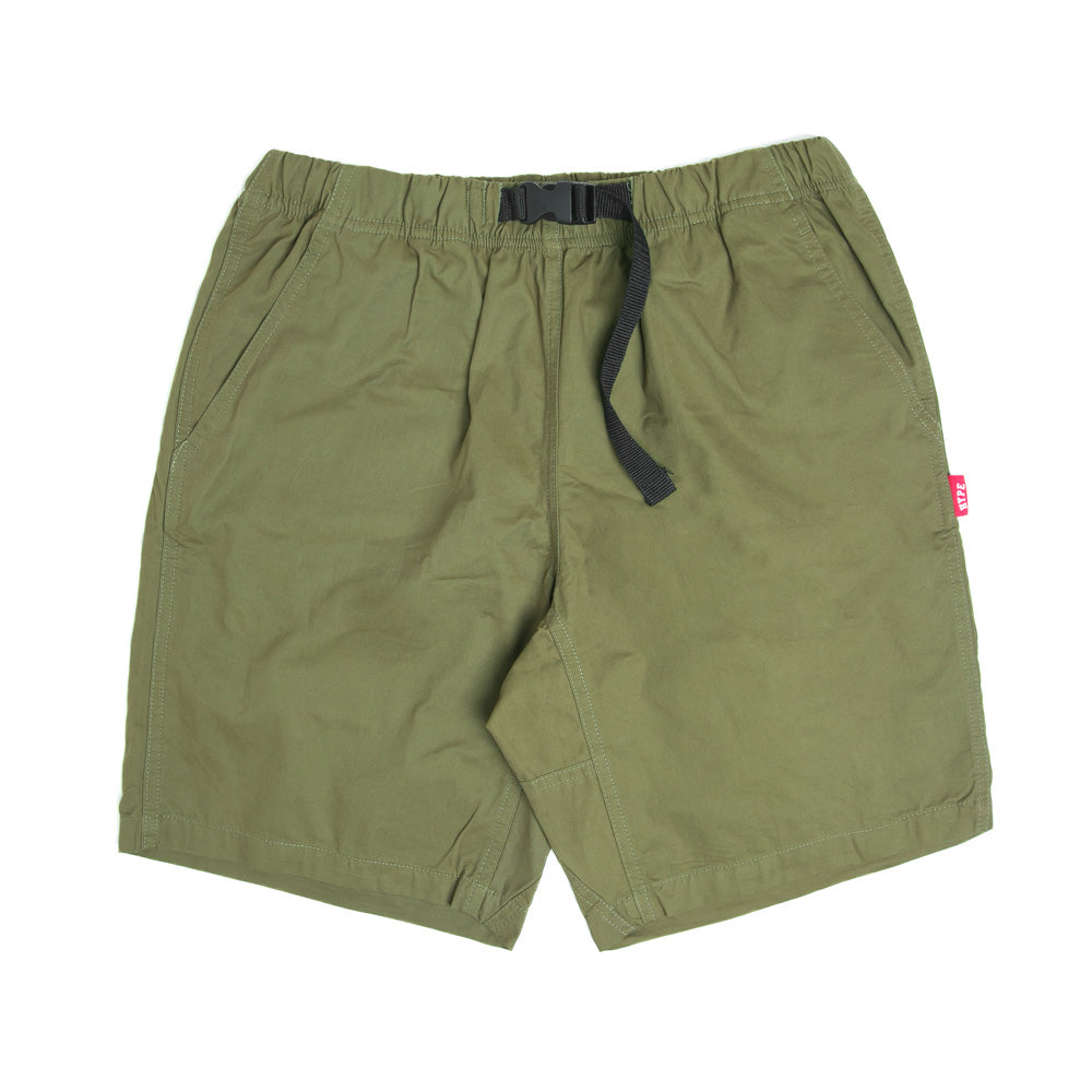 Men's Clip Buckle Shorts | Army Green
