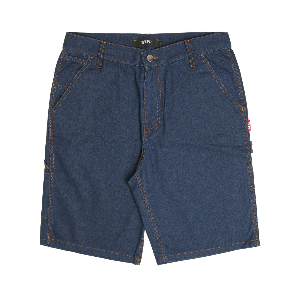 Basic Work Shorts | Dark Denim