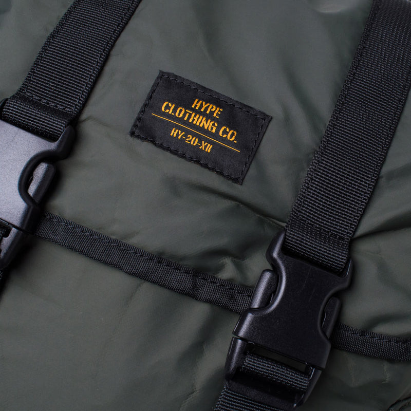 Capsule Military Backpack | Olive