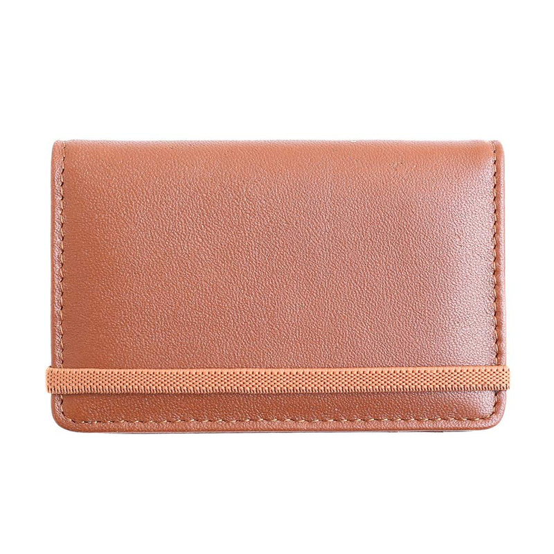 Seasonal Tom 5 Slot Card Holder | Brown