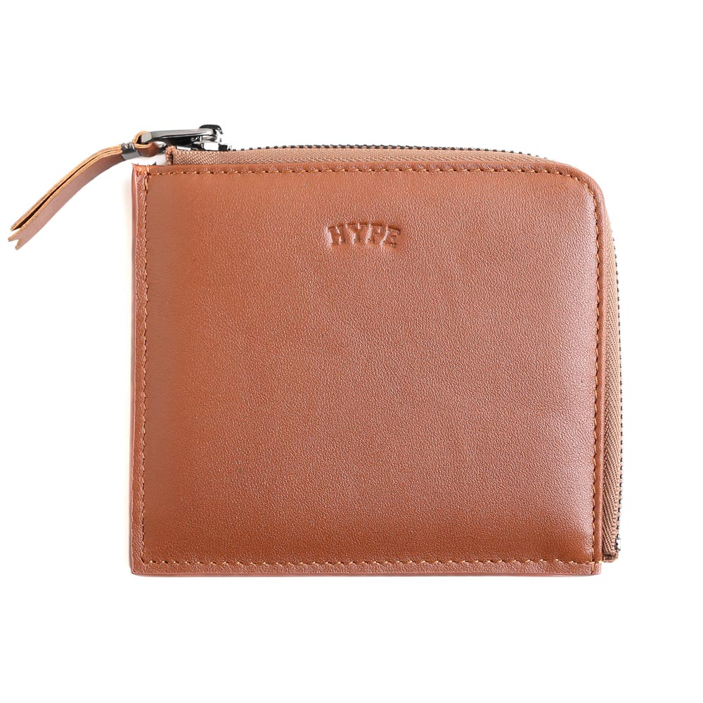 Seasonal Woody Zip Wallet | Brown