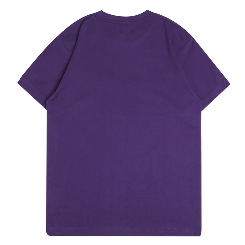 Seasonal Alden Short Sleeve Tee | Purple