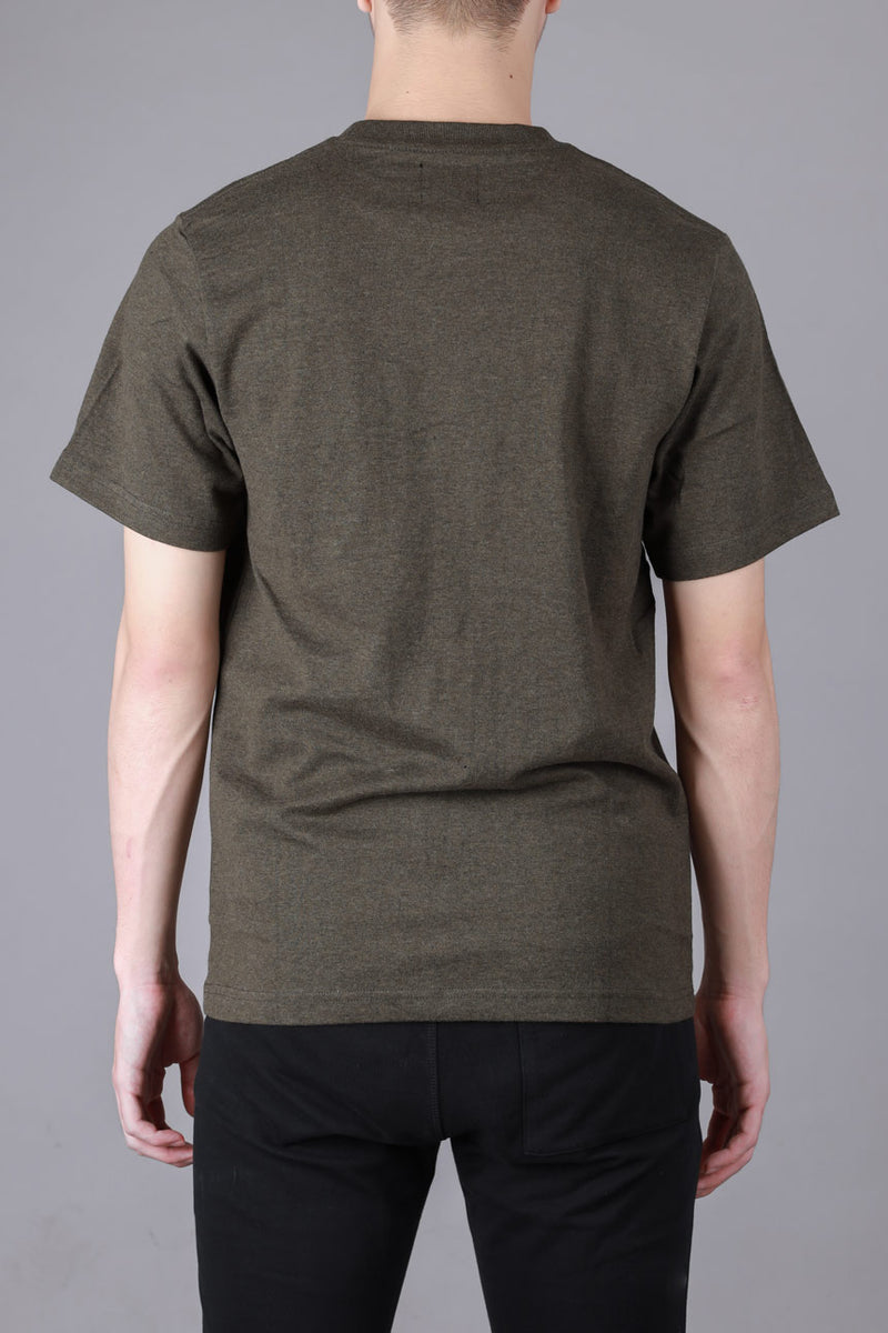 Seasonal Blaine Short Sleeve Tee | Dark Heather Green