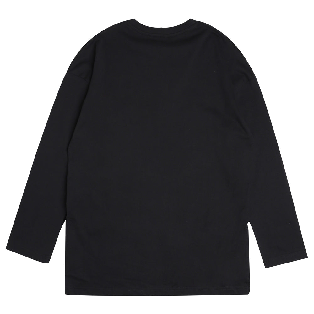 Seasonal Women Blake Fish Tail Long Sleeve Tee | Black