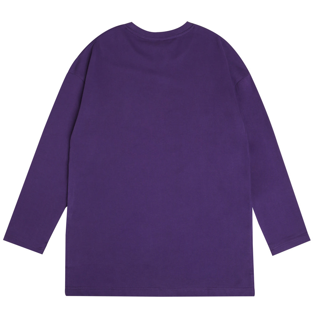 Seasonal Women Blake Fish Tail Long Sleeve Tee | Purple