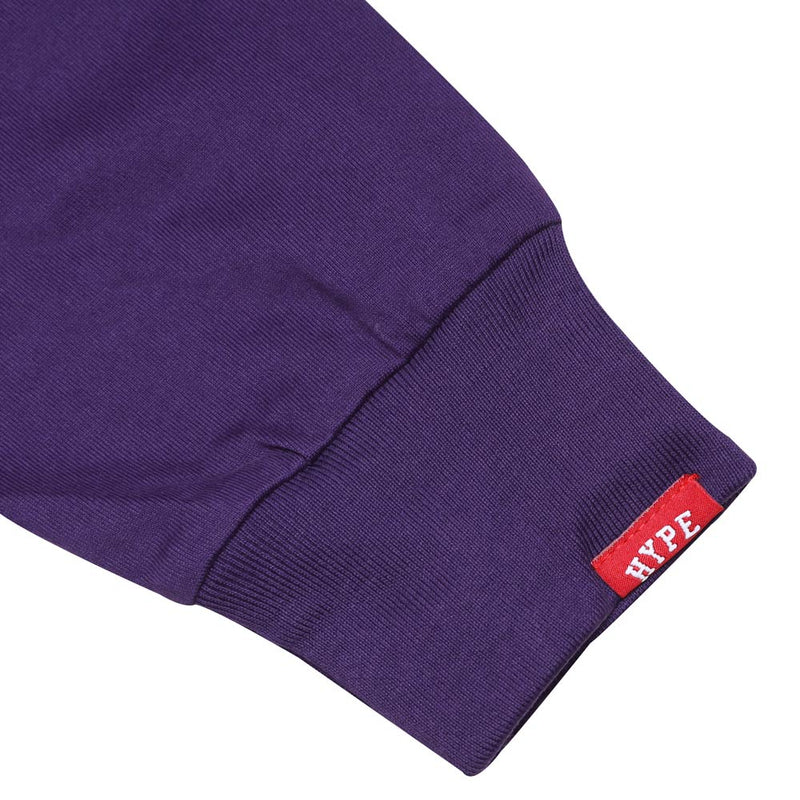 Seasonal Blake Long Sleeve Tee | Purple