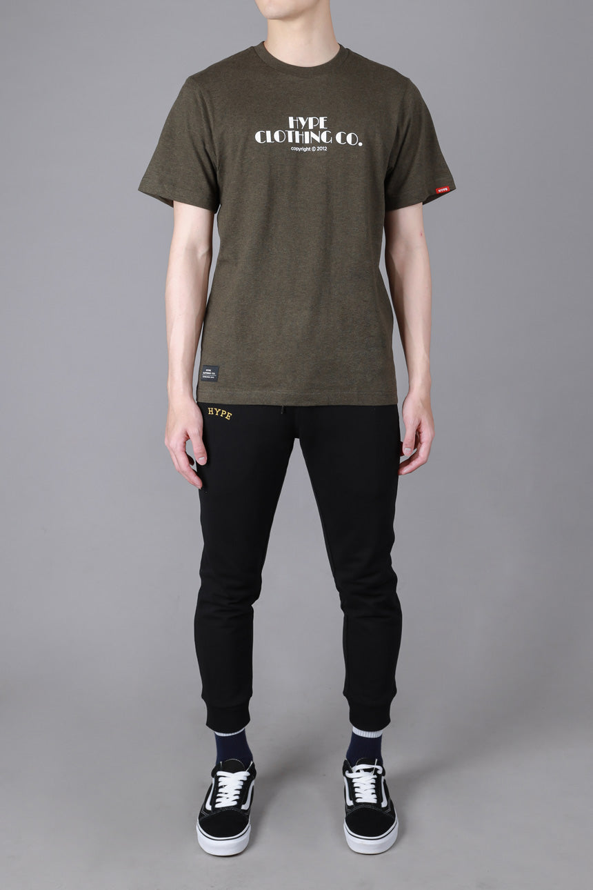 Seasonal Bryce Short Sleeve Tee | Dark Heather Green