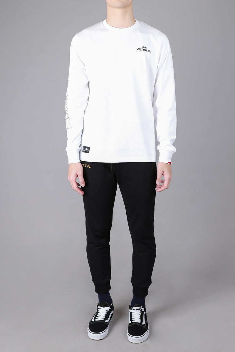Seasonal Conroy Long Sleeve Tee | White