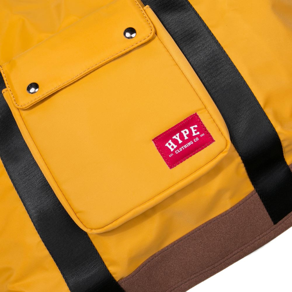 Seasonal Cuby Tote Bag | Mustard