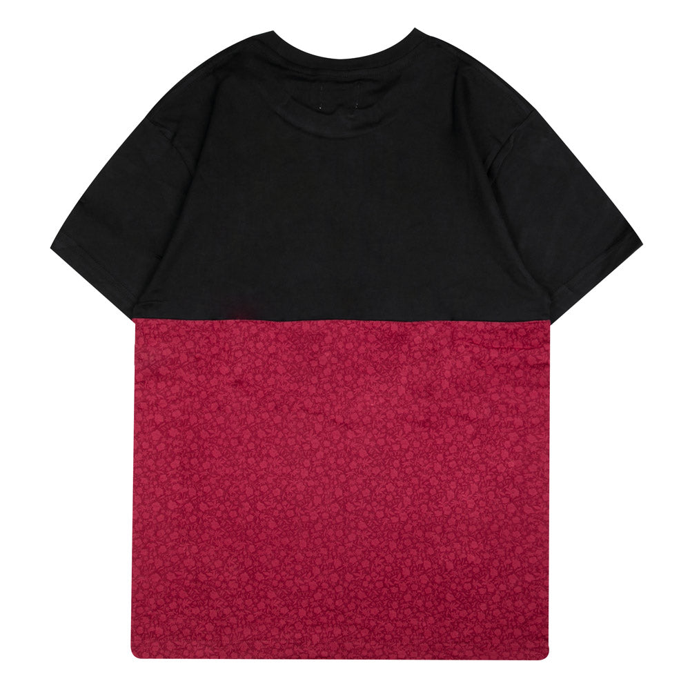 Seasonal Cyrus Short Sleeve Tee | Black/Maroon
