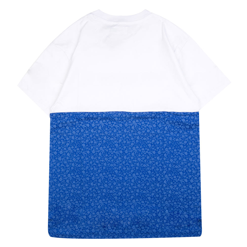 Seasonal Cyrus Short Sleeve Tee | White/Blue