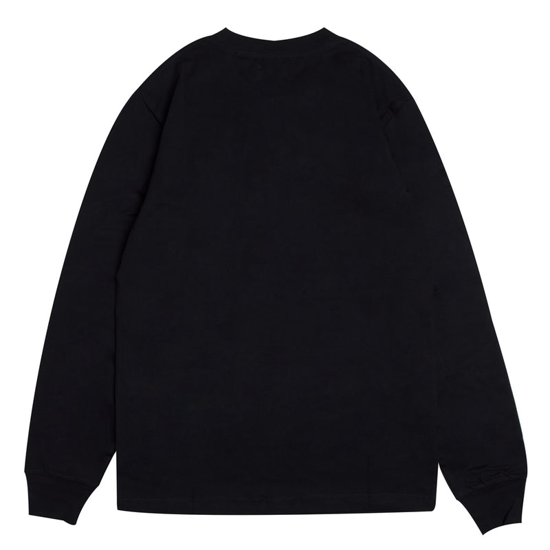 Seasonal Edison Long Sleeve Tee | Black