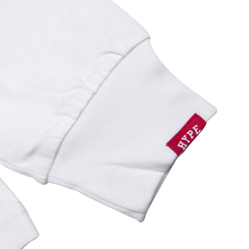 Seasonal Edison Long Sleeve Tee | White