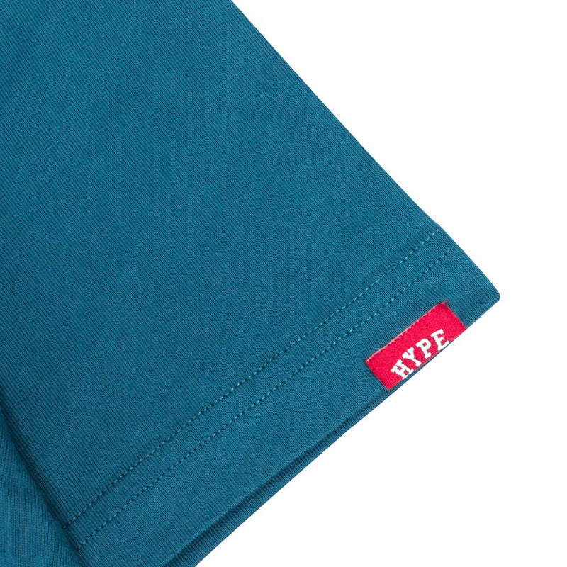 Seasonal Edison Short Sleeve Tee | Turquoise